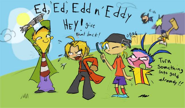 Ed,Ed,Edd n Eddy. .