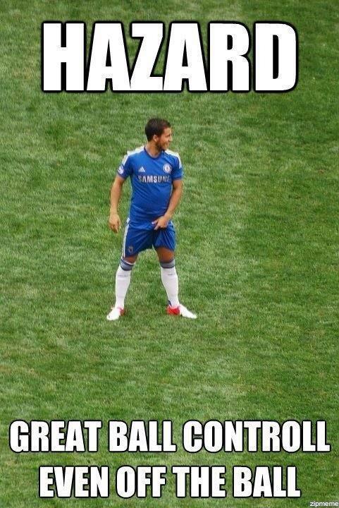 Eden Hazard.... found it on the interwebzzzz.. In league of legend my name is Hazarduous. mfw oh hai