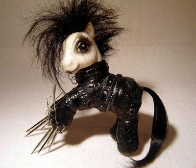 edward scissor pony. BE HAPPY YOU COMPUTER DOUCHEFAGS AND THUMB !.. I shall thumb. I will thumb up, and then I will thumb down.