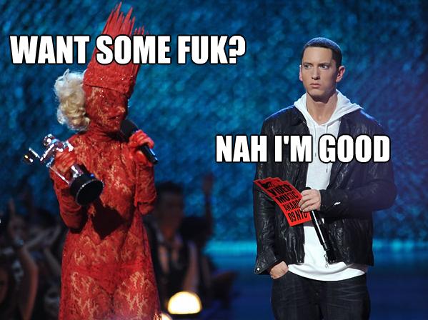 Eminem gets an offer. .