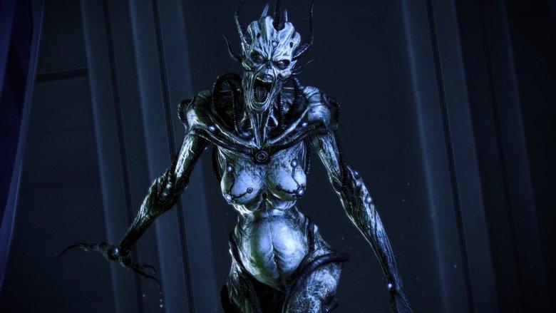 Enderman has a new girlfriend.. .. Banshee. An asari husk. Creepy As Hell. Perfect match.