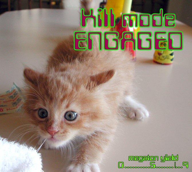 Engage!. . Engage killmode