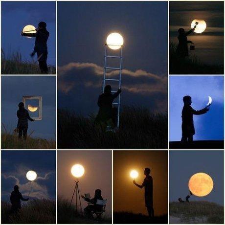 EPIC moon photos. .