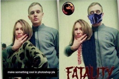 Epic Photoshop. It's amazing what photoshop can do. make sumething coal in photoshop pls mortal kombat gaming Photoshop epic