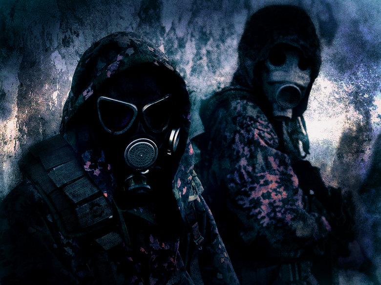 Epic gasmask picture (wallpaper? )