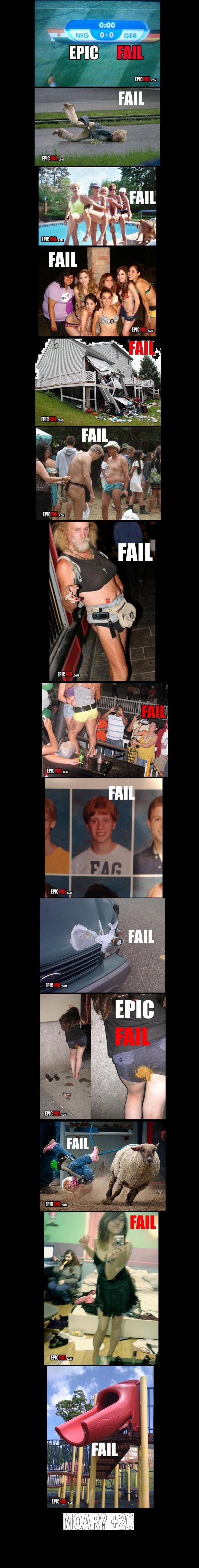 Epic Fails 3. None should be Retoast<br /> Epic Fails 2:<br /> www.funnyjunk.com/funny_pictures/684445/Epic+Fails+2/<br /> Epic Fails4: <br