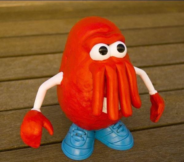 Epic Potato Head. Thumbs up for the epic Futurama Zoidberg Potato Head,<br /> I want one!.