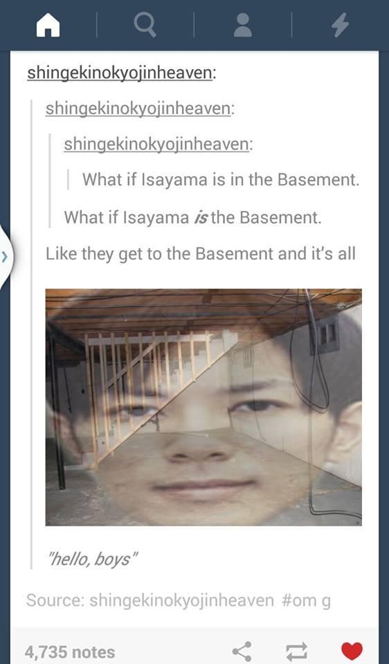 carla jaeger and the basement shingekinokyojin