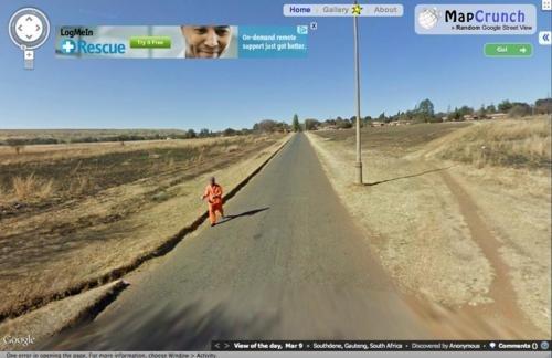 escaped convict streetview. lol an escaped convict on google street view.. What convict? lol lol LoL