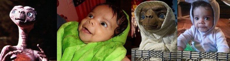 E.T Baby. . et baby funny alien WTF
