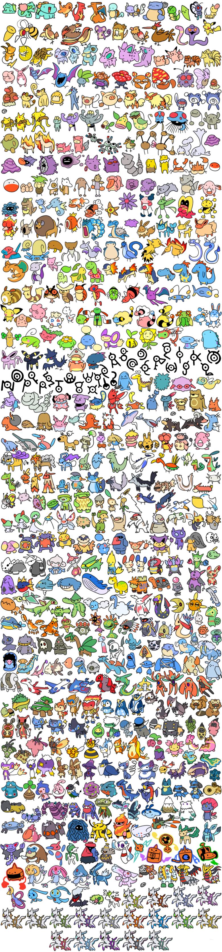 Fotos de todos los pokemon de teselia 69