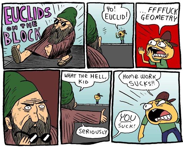 Everybody Hates Euclid. .. ?!