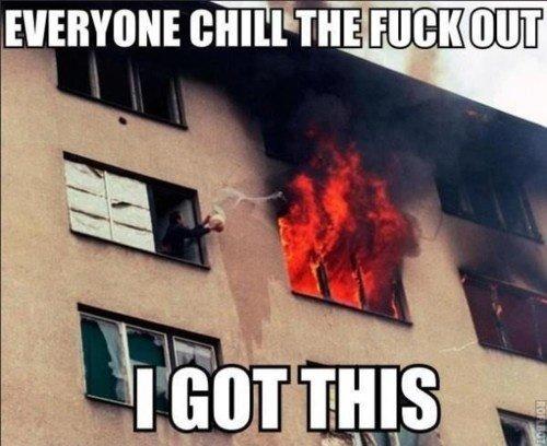 Everyone Chill!. .