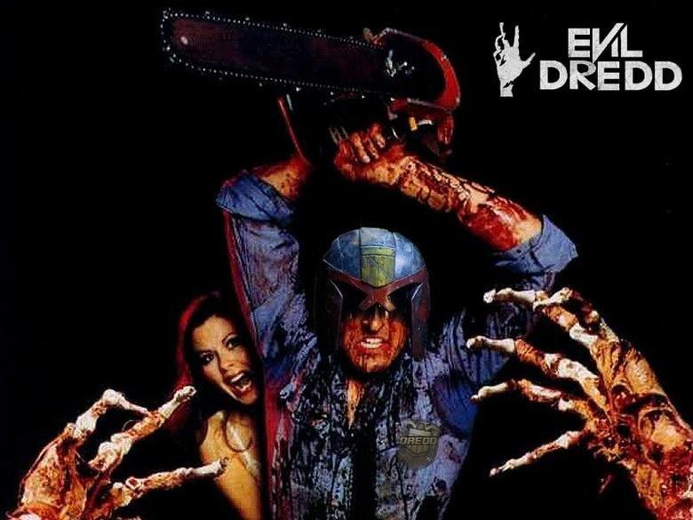 Evil Dredd. taken off the Make A Dredd Sequel facebook page. Dredd evildead