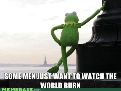 Evil Evil Kermit. . ill