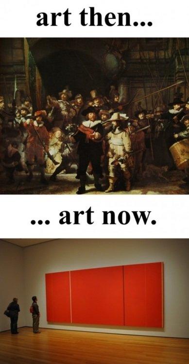 Evolution of Art. The evolution of art.. Art old modern funny evolution