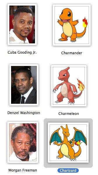 evolution. . Cu Gooding Jr. Charmander Charmeleon Morgan Freeman 'aht. ?. alrt'. Since we are talking about evolution