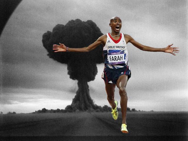 Explosion. Run Bitch Run.