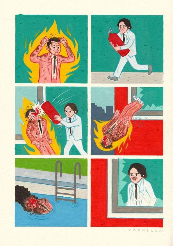 Extinguish. Not mine. Joan Cornella's.. Lesson of today!
