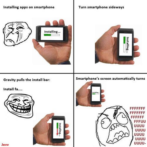 FFFFUUUUUU. lol. Installing app: an sin: Turn sidewalls faulty Imus the bar; scram: turn: FFA F FF UGUU UGUU-. Original for the ones that doesnt know the comic..
