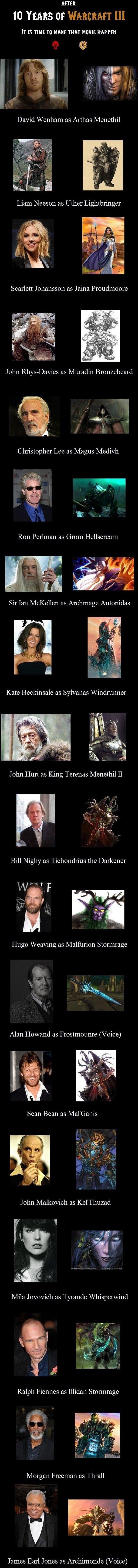 FUCKING DO IT FAGGOT. . AFTER 10 YEARS of It IS TIME TO MARIE mm Mom karma David Wenham as Arthas Menethil John Malkovich as Kel' Thuzad tlt Mila J as Tyrande W