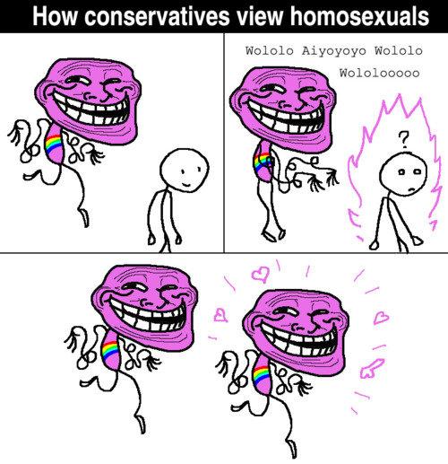 Fabulous. boobs tinyurl.com/btdpmo5. How conservatives view homosexuals