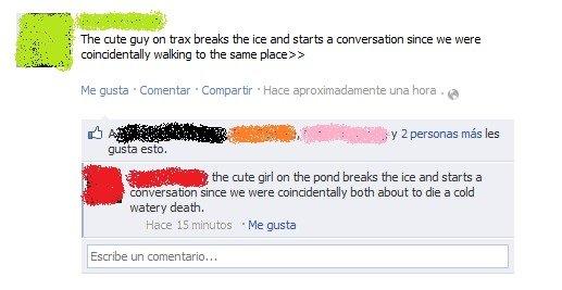 Facebook (╥). .
