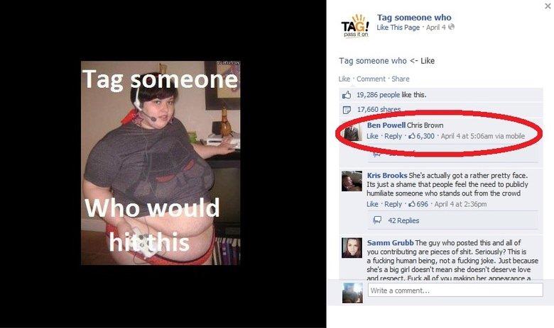 "Facebook (69). . Tag someone Tag someoene who TAG ' Like This F' age Mildly -4 Mi press it en Tag sameone whiz: "" Like Lila: e III: -brillient Eia' iare lall i."