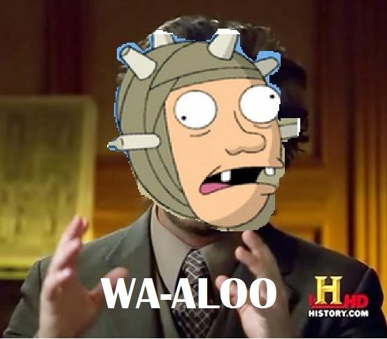 Facebook (potato). Wa-aloo wal wal wal.