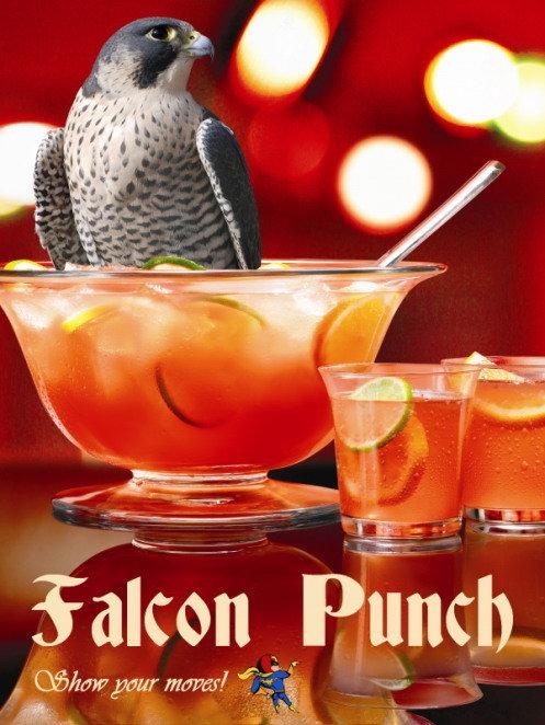 Falcon Punch!. . falcon ( pour t' radii. ii, A
