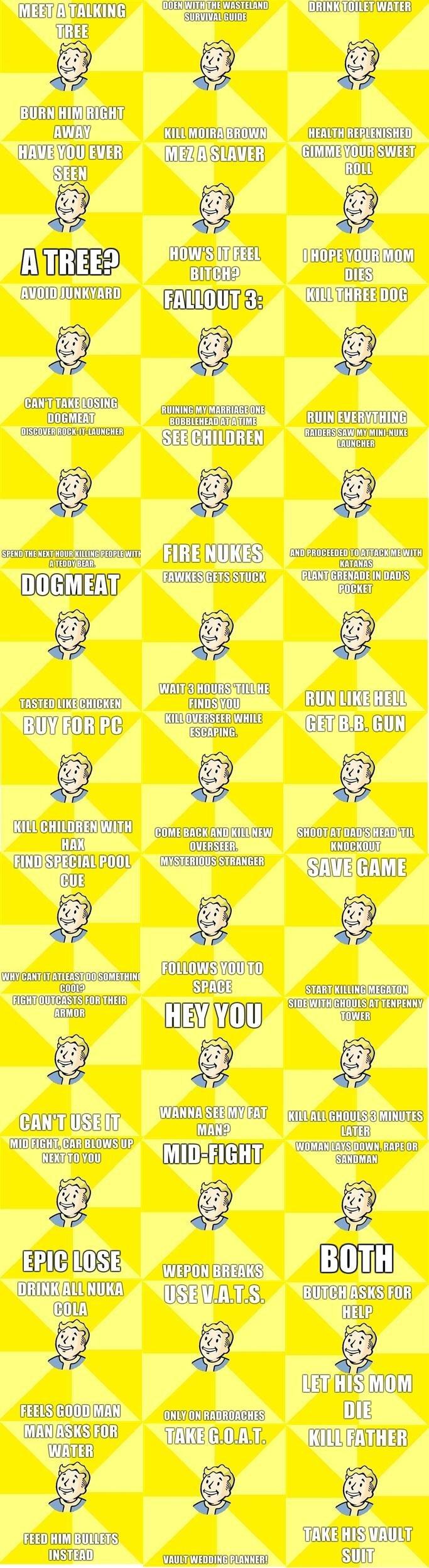"Fallout Compilation. Fallout Compilation, enjoy. fii"" aii! Cirillo) 2 SERGE lap lolgif] [ iigc WEE] bras, Mlg) awaii""' , tir Efl) flf?. Make More NOW Fallout Compilat"