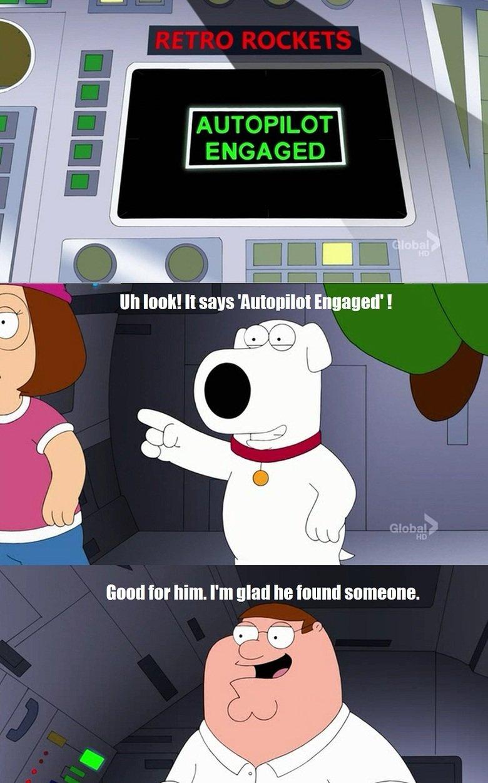 Family Guy. . attr hill]. htt glad he . Episode Nine