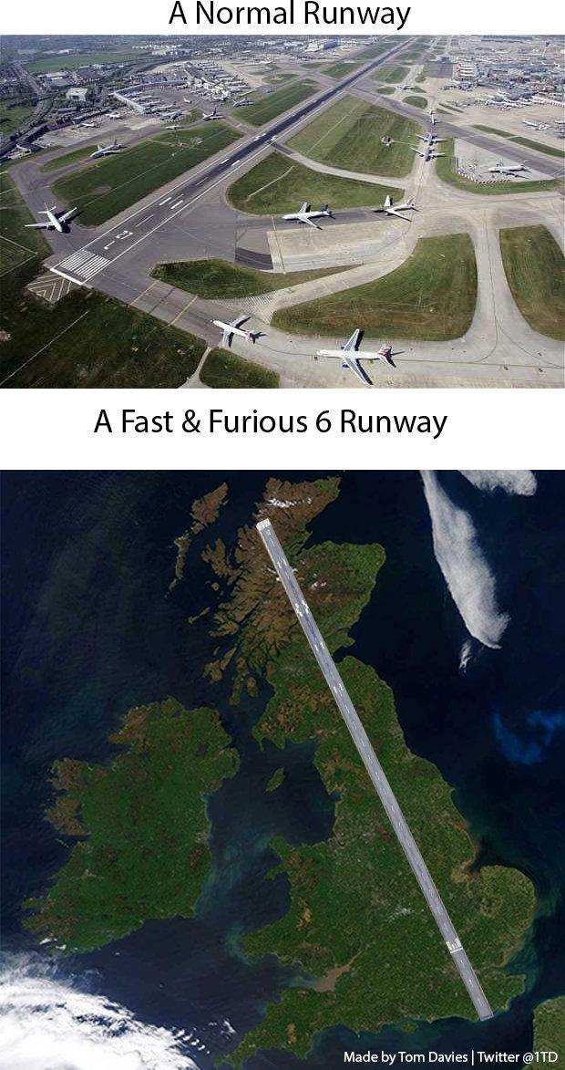 Fast & Furious 6 Logic. . Made by Tom Davies l Twitter @TTD. <-- OP