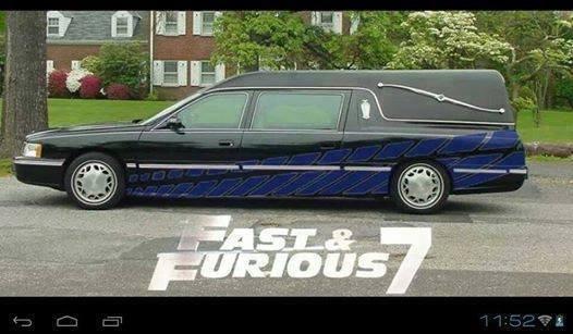 Fast & Furious 7. too soon?. Paul walker
