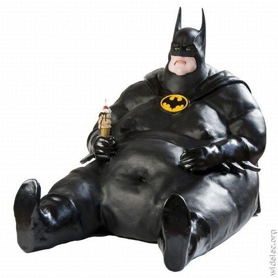 Fat Man. .. looks like val kilmer really let himself go