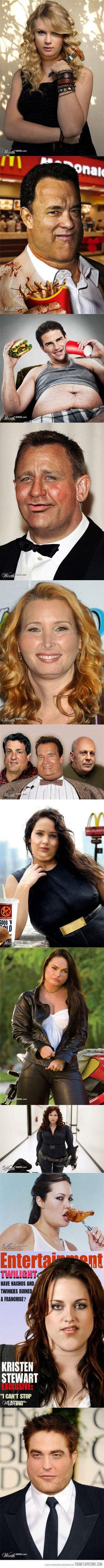 Fat Celebrity's. Not OC. MINE IE TIE! Hill I THEME? KRISTEN STEWART I STEP. >fat celebrity's Fat celebrity