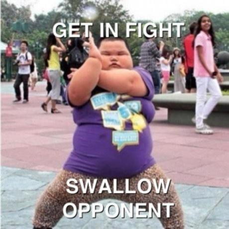 fat asian kid ftw. .. resemblance