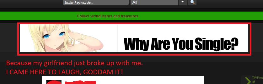 Feels. Scumbag FJ.. this is why i love adblock feel when no gf fishonadish