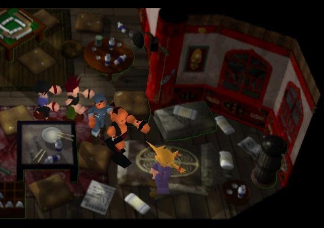 Final Fantasy 7 Zombie Apocalypse. Zombies... Zombies Everywhere.. It's a conga line! lol conga conga conga conga conGAA!