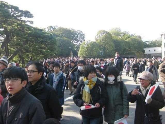 Find the tourist. Japan.. GODZILLA