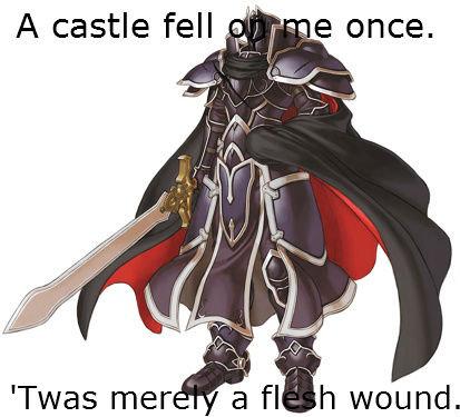 Fire Emblem's Black Knight. . fire emblem radiant Dawn path of Radiance the black knight