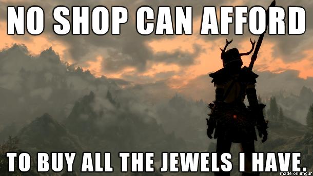 First world Skyrim problems.. Hi.. no snap cnu. Amen. I love collecting.