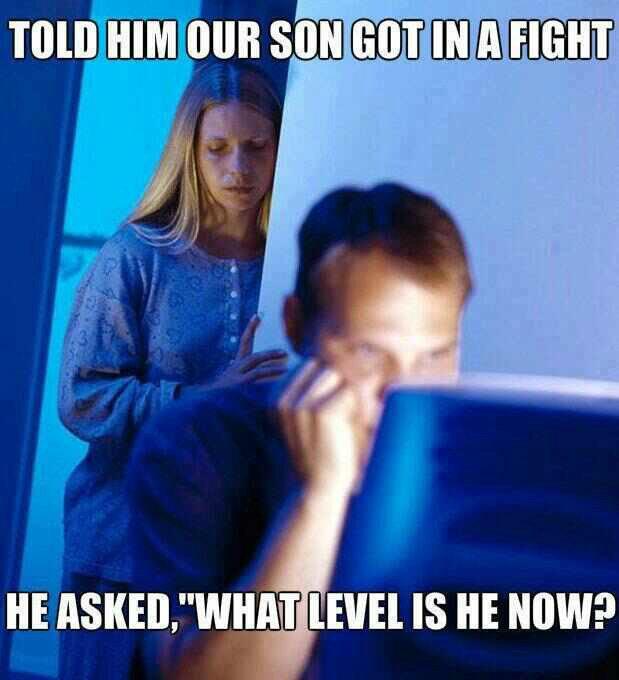 FJ as a dad. .