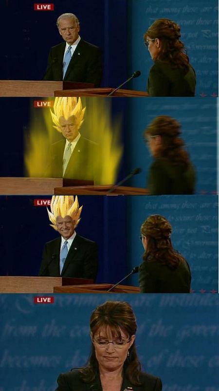 Flame on!. . LIVE LNE. He turned into a Super Saiyan. No flame involved.