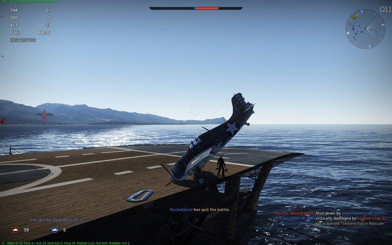 flawless landing. flawless landing. game is war thunder. Avr.. 1 minute before flawless landing