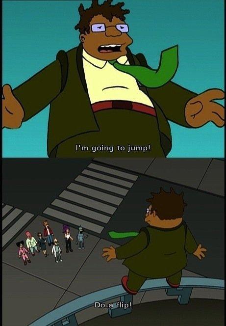 Flip out. Source: Adventure Time. Dc: H flip]. Description, the source is The Simpsons you .