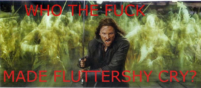 Fluttershy. who did it?!?.