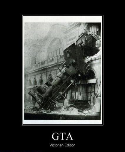 FOLLOW THE DAMN TRAIN CJ. old but good. GTA echte. v,