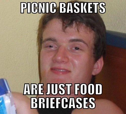 food briefcase. .