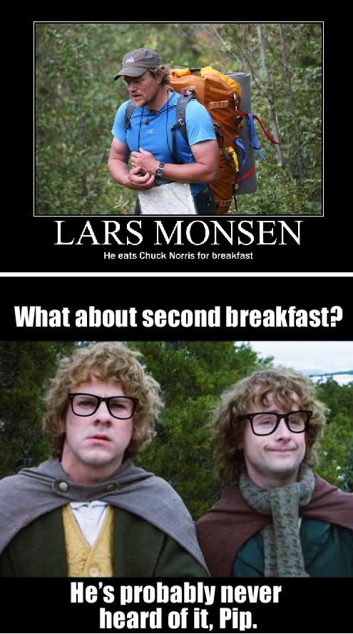 fool of a took!. first breakfast is description.